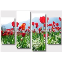 HOT SALE! NEW DECORATIVE FLOWER PAINTING