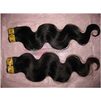 Hair Extensions-Remy Double Drawn Weave Hair - Brazilian Curly