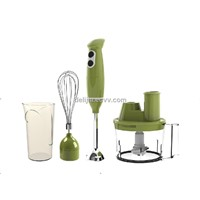 Hand Blender with Chopper / Stick Blender, s/s Rod, 700w