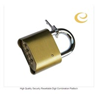 High Quality Security Resettable Digit Combination Padlock