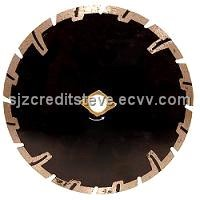 Hot-Pressed Protection Teeth Diamond Blades
