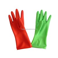 House cleaning latex glove