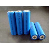 ICR18650-2000mAh High-capacity Cylindrical Li-ion Batteries with 3.6V Nominal Voltage
