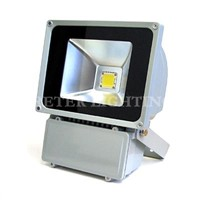 Ip65 Epistar Aluminium Alloy 70w / 80watt LED Outdoor Flood Lighting Fixtures for Bridge