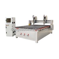 Independent heads wood cnc machine HD-1825