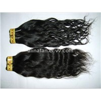 Indian Brazilian peruvian european Malaysian Remy Virgin Unprocessed Weft Human Hair