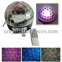 July Arrvial !CR-LD-01  Colorful  LED Crystal Magic Ball With MP3/USB/Romote Control