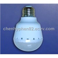 LED Bulb Lamp With Half-ball Shade 5W