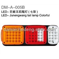 LED-Junengwang  tail lamp (colorful)