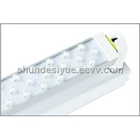 LED SQUARE TUBE LIGHT / PATENT PRODUCTS/FLUORESCENT FIXTURE INCLUDED/600MM/8W