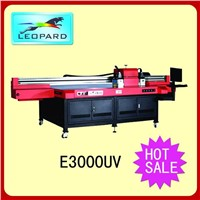 Leopard E3000 wide format inkjet uv flatbed printer