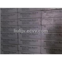 Low density mineral fiber ceiling board