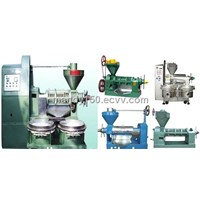 Medium and Small full set of oil press equipments