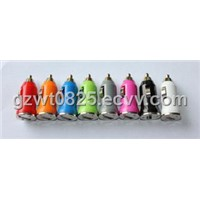 Micro USB Car Charger F16, with Multi Colors