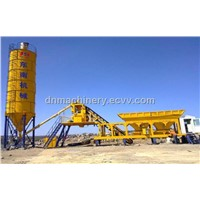 Mobile Concrete Batching Plant YHZS50