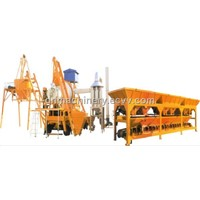Mobile asphalt batching plant