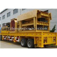 Mobile Crusher with 300 t/h