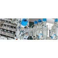 Multi-layer pipe production line