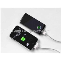 Multi power charger with LED Torch(Black)