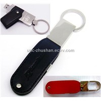 New Arrival Promotional Leather USB Flash Drive 4GB 8GB 16GB