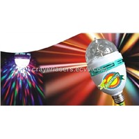 New Arrvial !CR-LD-03  Colorful  LED Crystal Rotating Lamp