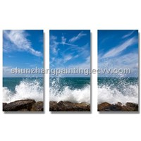 New ! Seaside scenery art canvas paintings!