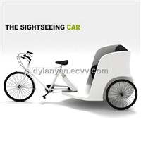 New electric passenger tricycle
