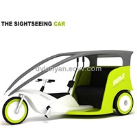 New style sightseeing car