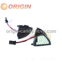 ORIGIN 18SMD LED side mirror foot lamp for vw Eos/Golf 5/Golf 5 Plus/Jetta/Passat