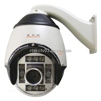 Outdoor / Indoor IR High Speed Dome PTZ Camera
