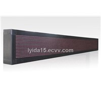 P12.5 Outdoor Unicolor Strip Sign