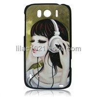 PC hard shell case for HTC G21   Sensation XL