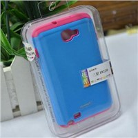 PC+silicone case for Samsung i9220/Galaxy Note