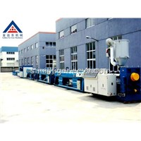 PE water & gas  pipe extrusion line