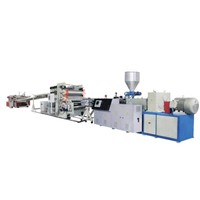 PE wood-plastic extrusion machines