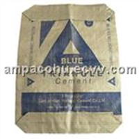 PP woven Valve bag for packing cement
