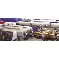PVC double pipe extrusion production line