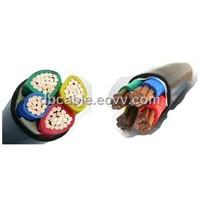 PVC linsulated & sheathed Power Cable
