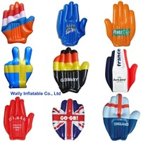 inflatable hand, inflatable glove hand, big inflatable hand