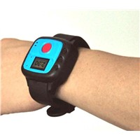 Personal GPS bracelet tracker / 2 way voice call / Indoor AGPS