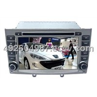 Peugeot 308 Car DVD GPS Player