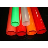 custom hard  colored pvc pipe for water