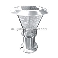 Popular stainless steel solar string pole lights ( DH-SL09-58)
