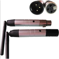 Portable 2.4G wireless transmitter and reciever (xlr) dj equipment