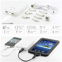 Portable Battery Pack for iPhone4s, iPad 2 ,Galaxy Tab with 11200mAh High Capacity