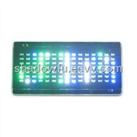 Programmable LED t-shirt panel/LED hat
