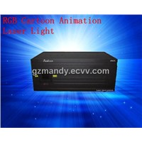 RGB Cartoon Animation Laser Light