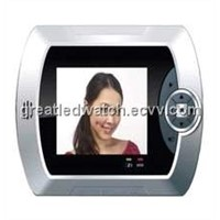 Security Door Viewer With Infrared Motion Monitoring Function