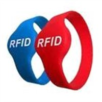 Silicone Rfid wristband card with smart chip