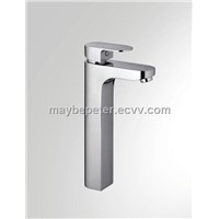 Single handle basin faucet mixer tap with bubbler(023830)